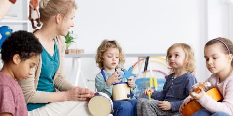 3 Ways Music Encourages Toddler Development, Texarkana, Texas