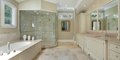 5 Of The Best Tiles For Your Bathroom Floors   Connecticut Kitchen U0026 Bath  Center   Wallingford Center | NearSay