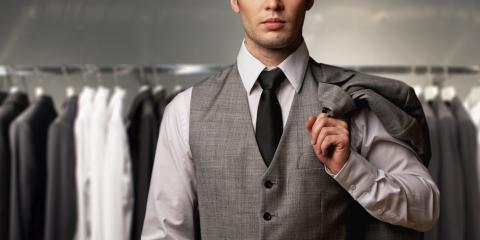 Men's Formal Wear Shop Shares 3 Ways to Determine if Your Suit Fits Correctly, Wallingford Center, Connecticut