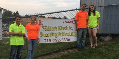 Walter's - Eaton's Electric, Plumbing, Heating & AC, Electricians, Services, Ellsworth, Wisconsin