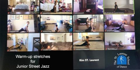 3 Stretches Students Should Perform Before Dance Class, Honolulu, Hawaii