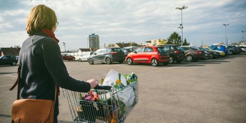 How to Make a Parking Lot Safer, Wasilla, Alaska