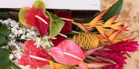Study shows Flowers impact Happiness!, Honolulu, Hawaii