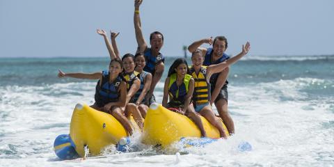 Water Activities in Honolulu: Who Should Ride a Banana Boat With You?, Honolulu, Hawaii