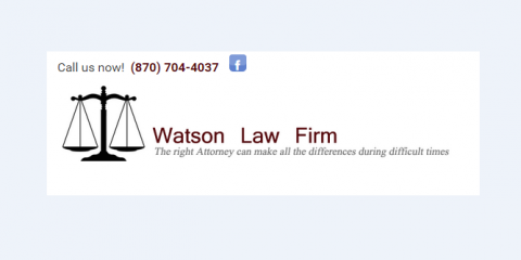 Watson Law Firm, Bankruptcy Law, Services, Harrison, Arkansas