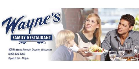 Dine with Us this Easter!!, Oconto, Wisconsin
