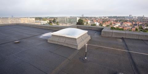 3 Types of Flat Roof Materials, Waynesboro, Virginia