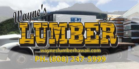 Kiln-Dried Wood Is Stronger & Prevents Mold Growth, Koolaupoko, Hawaii