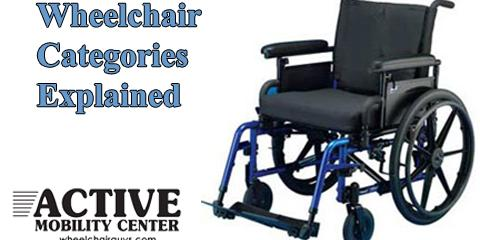Adult Wheelchairs Categorized and Explained, Pompano Beach, Florida