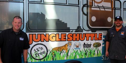 "Catch the Jungle Shuttle This Season at O'Malley""s In The Alley, Cincinnati, Ohio"