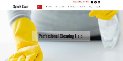 Visit Our New Website To Find Out How We Can Help With Your Residential & Commercial Cleaning Needs!, St. Louis, Missouri