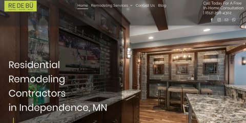 We have a new Website!, Independence, Minnesota