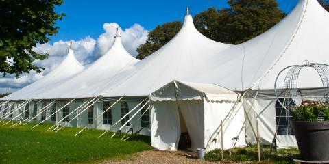 Planning for Tent Rental: 3 Things to Consider, Webster, New York