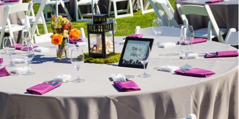 How to Include Your Wedding Colors in a Centerpiece, Oyster Bay, New York