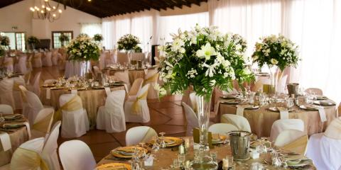 5 Beautiful Color Schemes for a Knockout Wedding Reception, Lincoln, Nebraska