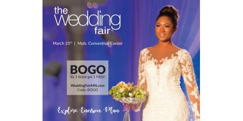 Wedding Fair at Minneapolis Convention Center, Eagan, Minnesota