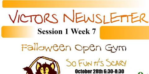 Week 7 Victors Newsletter: Christmas and Halloween Parties, Spencerport, New York