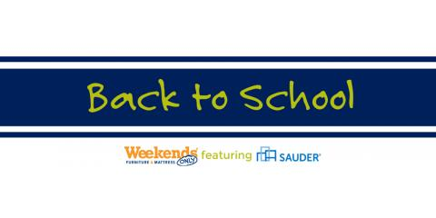 Back-To-School Savings on Bedroom & Office Furniture, St. Peters, Missouri