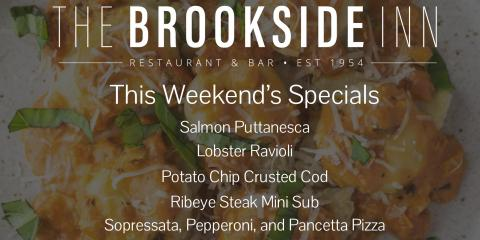 Try out our specials this weekend! #supportlocal #tgif, Oxford, Connecticut