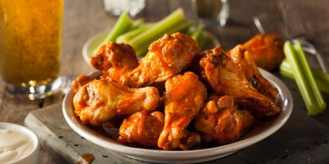 Why Do Buffalo Wings Pair Well With Celery?, North Hempstead, New York
