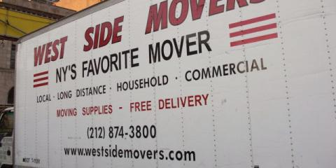 Take The Stress Out of Your Next Apartment Move With The Help of West Side Movers, Manhattan, New York