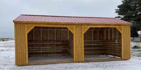 Why Your Animals Need an Old Hickory Building® Shelter, Westby, Wisconsin