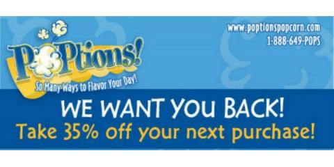 POPtions! Popcorn has a gift for you!, Clayton, Missouri