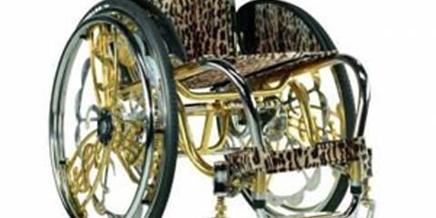 Homemade Bling for your Wheelchair