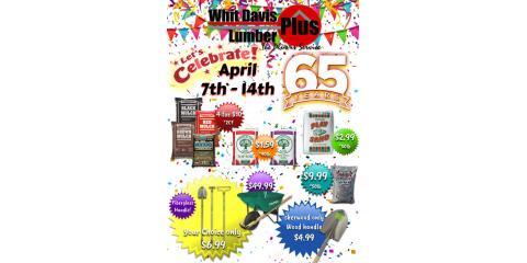 Whit Lumber Plus Celebrates 65 years!, Jacksonville, Arkansas
