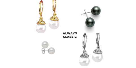 4 Ways to Style Pearl Earrings, Nyack, New York