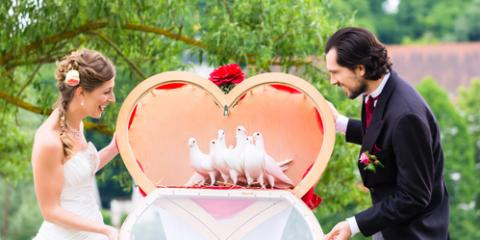 Why Weddings Are Perfect for White Dove Releases, Covington, Kentucky