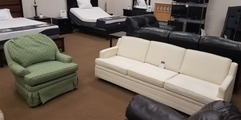 WHITE SOFA AND CHAIR-$100, Maryland Heights, Missouri
