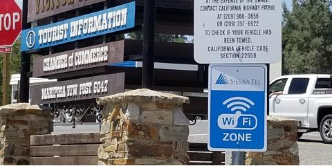 Sierra Tel is proud to announce the installation of the first  Wi-Fi Hot Spot, Mariposa, California