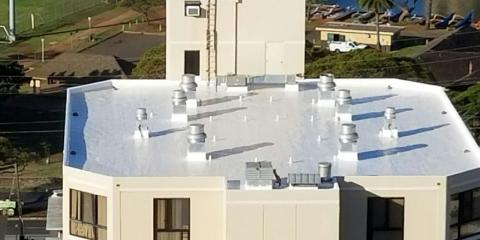 4 Reasons to Invest in Roof Coating, Honolulu, Hawaii