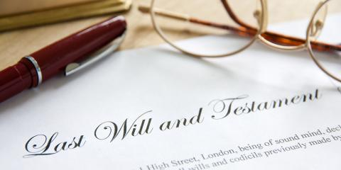 Your Last Will & Testament: Answers to Frequently Asked Questions, Rochester, New York