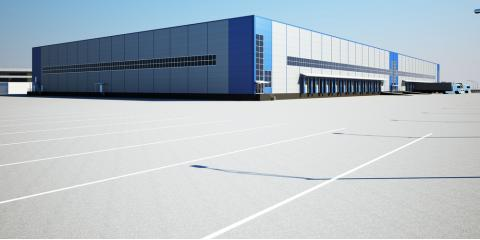 What Are the Benefits of Concrete Parking Lots?, Windham, Connecticut