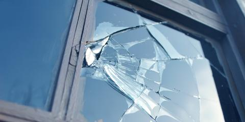 Top 3 Causes of Broken Glass Windows, Florence, Kentucky
