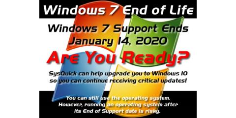 Windows 7 End Of Life, 14, Maryland