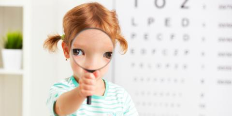 3 Signs Your Child Has Vision Problems & May Need Glasses, Symmes, Ohio