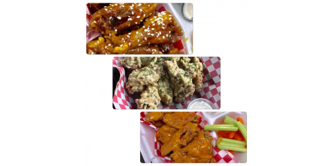 3 New Amazing Wing Sauces!, ,
