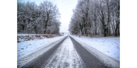 Winter Fun and Hazards, Hay Creek, Minnesota