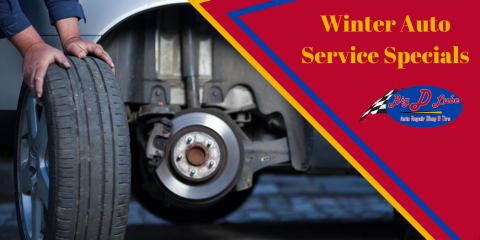 Winter Auto Service Specials - Starting at $39.99, Concord, Missouri