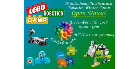 Robotics Winter Camp Open House, Hackensack, New Jersey