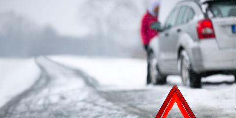 Very real danger for those who work alongside the road during winter months