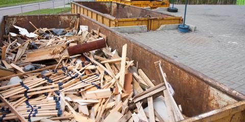 3 Important Benefits of Renting Dumpsters, Wisconsin Rapids, Wisconsin