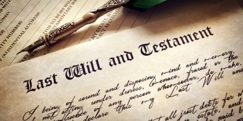 When to Consider Writing a Will, Wisconsin Rapids, Wisconsin