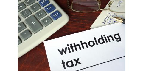 IRS Urges Taxpayers to Check Withholding Amount, High Point, North Carolina