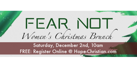 Join us for our annual Women's Christmas Brunch on Saturday, December 2nd!, Burien, Washington