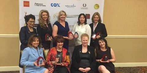 Aviva Gordon Inducted into the Hall of Fame of the Women's Chamber of Commerce of Nevada, Las Vegas, Nevada