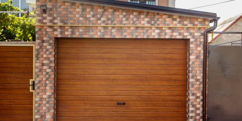 5 Benefits of Wood Garage Doors, Oxford, Connecticut